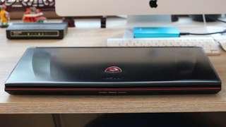 "95%NEW MSI GE72 Gaming Laptop 17.3"" - i7 6700HQ \ GTX 960m GTX 970m GTX 1050Ti (多配置)"