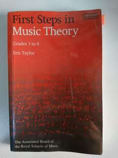 ABRSM Music theory guidebook grade 1-5