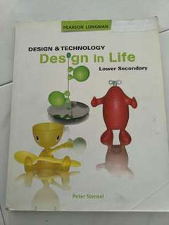 Design & Technology Textbook for Lower Sec