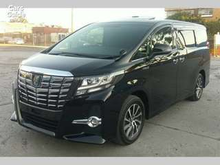 Rental Luxury MPV. Car with Driver