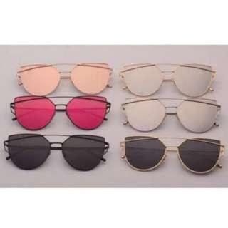 Restocked Korean Style Unisex Cat Eye Sunglasses