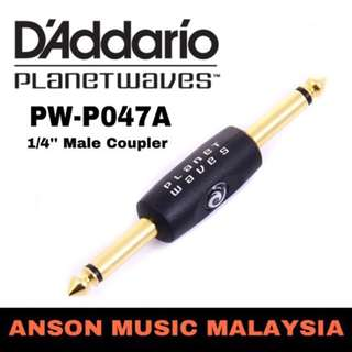 D'Addario Planet Waves PW-P047A 1/4'' Male Coupler