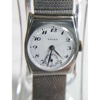 [母親節禮物] 古董精工(Seiko)陶瓷面小三針上鍊手錶