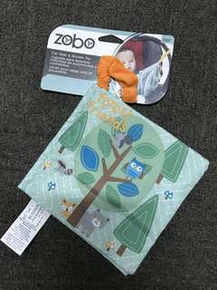 Toys'R'Us Zobo Forest Friends Hanging Book Toy,