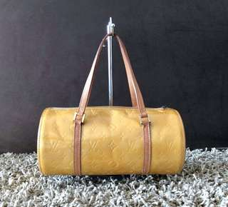 Authentic Lv Vernis Cowhide