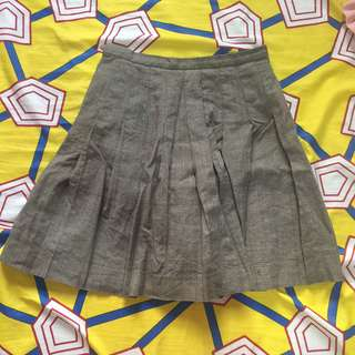 Vintage plaided skirt
