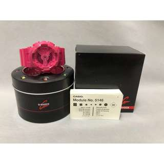 CASIO G-SHOCK Hyper Colors Limited Edition Hot Pink Watch GShock GA-110B-4D - Pink