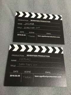 Joshua n Hoshi Business card