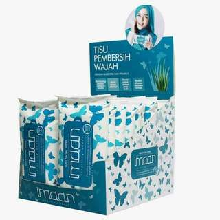 Imaan Suci Wipes make up remover