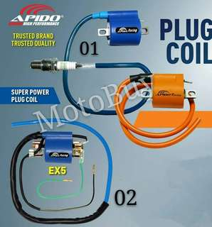 MOTOCYCLE APIDO RACING PLUG COIL SET