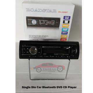 Hot Item Single Din Bluetooth with DVD CD Player