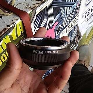 Adapter lensa canon eos ef/efs to body sony emount
