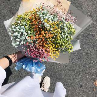 Flower bouquet | Rainbow