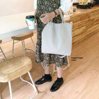 Eun-Kyung Canvas Sling Tote Bag