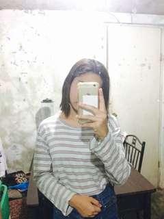 Stripes Swearshirt