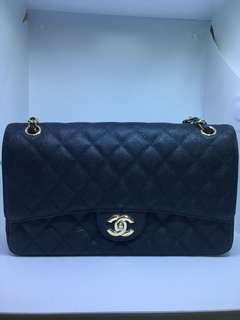 Pre Loved Chanel Caviar  Double Flap