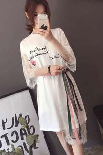 White dress for movie date