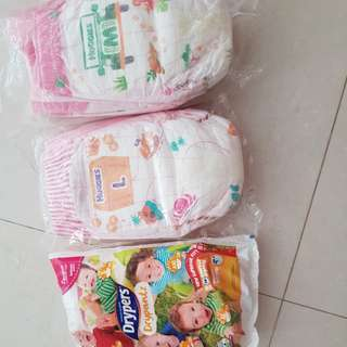 Diaper sample