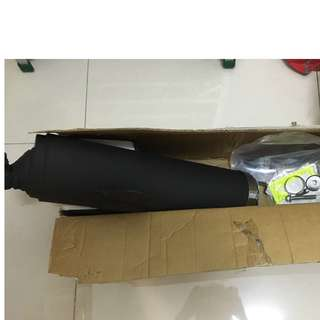 Brand New Ninja250R Original Exhaust