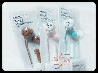 We Bare Bears Earbuds