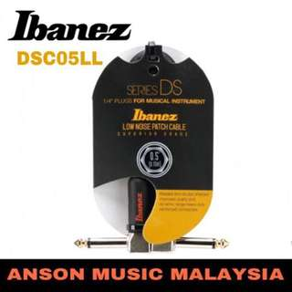 Ibanez DSC05LL Series DS Patch Cable Angled Jack - Angled Jack