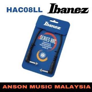 Ibanez HAC08LL Series Hac Heavily Armored Instrument Cable