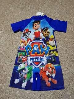 paw patrol swimsuit (box OO)