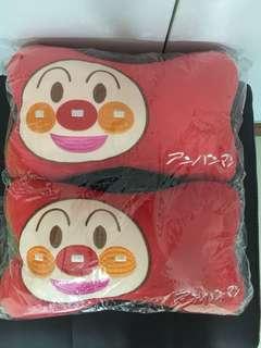 Anpanman car cushion (面包超人)