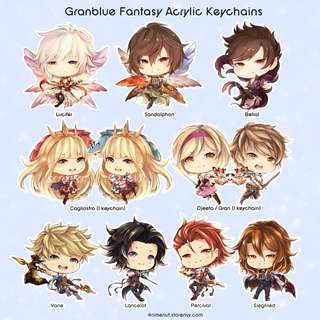 Granblue Fantasy doujin acrylic charms