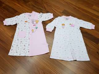 NEW Roybee Baby Girl Clothes (2 sets) size 70