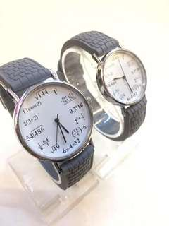 Equation couple watch with box