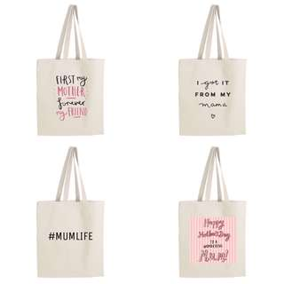 Mother's Day Customized Tote Bag