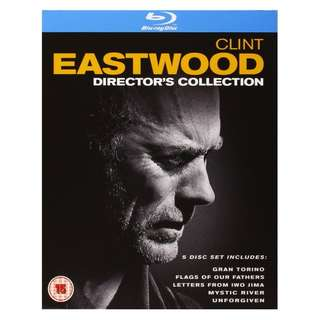 Clint Eastwood Director's Collection Blu-ray