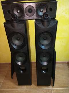 Wharfedale Speakers modus one-3(Made in England) Jamo(Made in Denmark) centre speaker 160