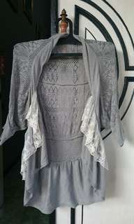 Outer rajut lace