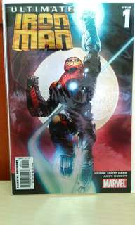 2005 Marvel Ultimate Iron Man #1.