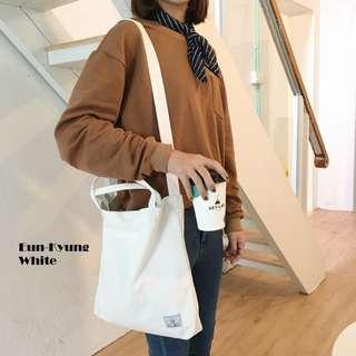 Eun-Kyung Canvas Sling Tote Bag
