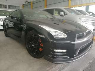 Unreg 2015 nissan GT-R gtr R35 premium 3.8 twin turbo v6 AWD