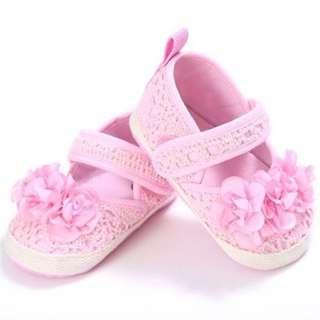 Anti-Slip Baby Infant Toddler Flower Pre-walker Shoes