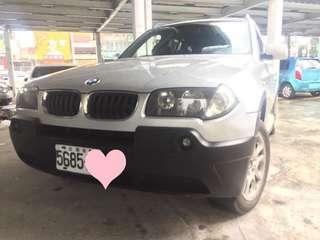 2004年 BMW X3 2.5i