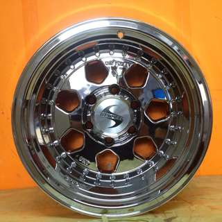 16inch SPORT RIM 4x4 GT WHEELS SUPER CHROME