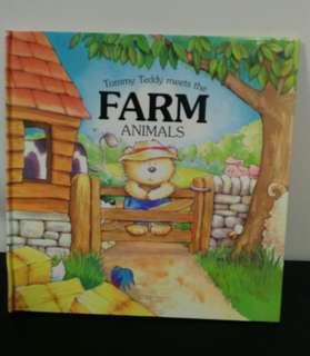 Tommy Teddy meets the Farm Animals英文圖書 兒童繪本