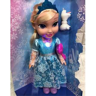 Frozen Doll with Sound & Music