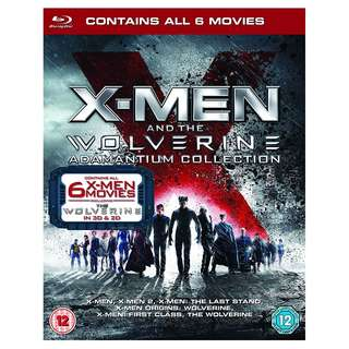 X-Men & Then Wolverine 3D Adamantium Collection Blu-ray