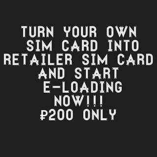 Sim Activation for Retailer Sim Card