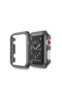 AppleWatch 極纖薄保護殻 亮黑色 42MM series 1/2/3