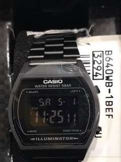 AUTHENTIC CASIO B640 VINTAGE WATCH
