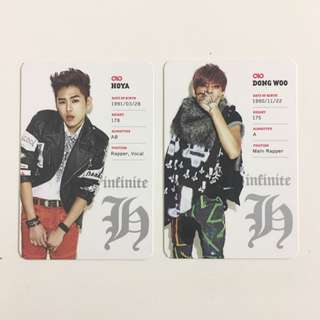 Infinite H Fly High Album + Photocards