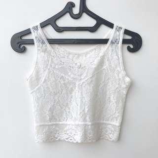 Bralette Lace Crop Top