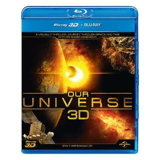 Our Universe 3D Blu-ray